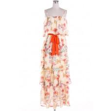 Maxi Hawaiian Floral Dress