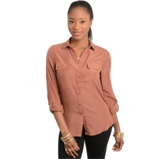 Chic High Low Shirt